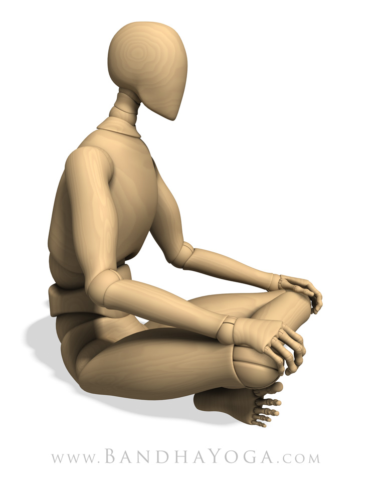 seated pose
